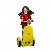 Сигги желтый с куклой Мария