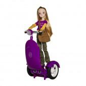 Сигги сиреневый с куклой Жанна